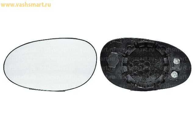 Стекло зеркала Smart Fortwo (450), City Coupe 04->07 (с обогревом) левого