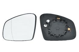Стекло зеркала Smart Fortwo (453), Forfour (453), Рено Twingo 07/14-> асферич., с обогревом левого