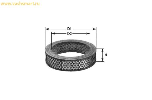 Фильтр воздушный Smart City Coupe 0.6-0.7, Fortwo 0.7  98->07
