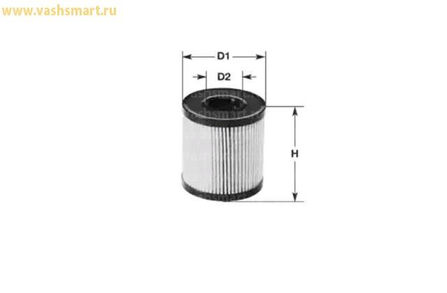 Фильтр масляный Smart Fortwo, City Coupe 0.6-0.7, 0.8 CDi  98->14