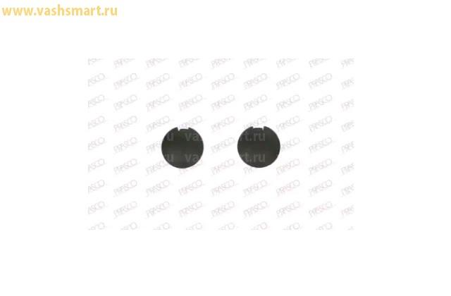 Заглушка бампера (буксировочного крюка) Smart Fortwo 03/07 -> 08/14 (к-т 2 шт.)