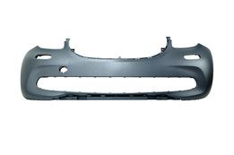 Бампер передний Smart Forfour  09/14 -> (с заглушкой буксир. крюка + к-т держателей)  под покраску